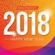 Happy New Year Flyer 2018