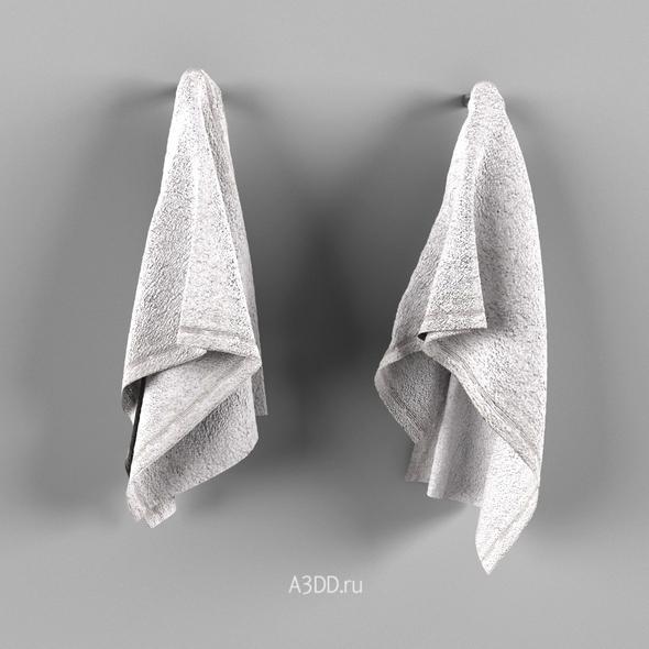 Set of towels - 3DOcean Item for Sale