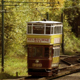 Vintage Electric Tram Passing 2