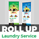 Laundry Service Roll-Up Banner