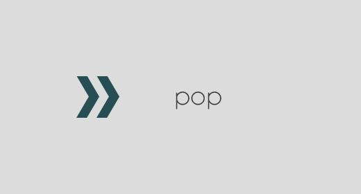 Pop, Dance