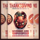 Thanksgiving Flyer Template v3 - GraphicRiver Item for Sale