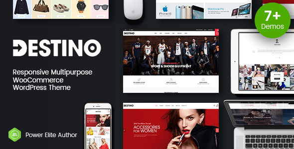 Destino - Advanced WooCommerce WordPress Theme with Mobile-Specific Layouts