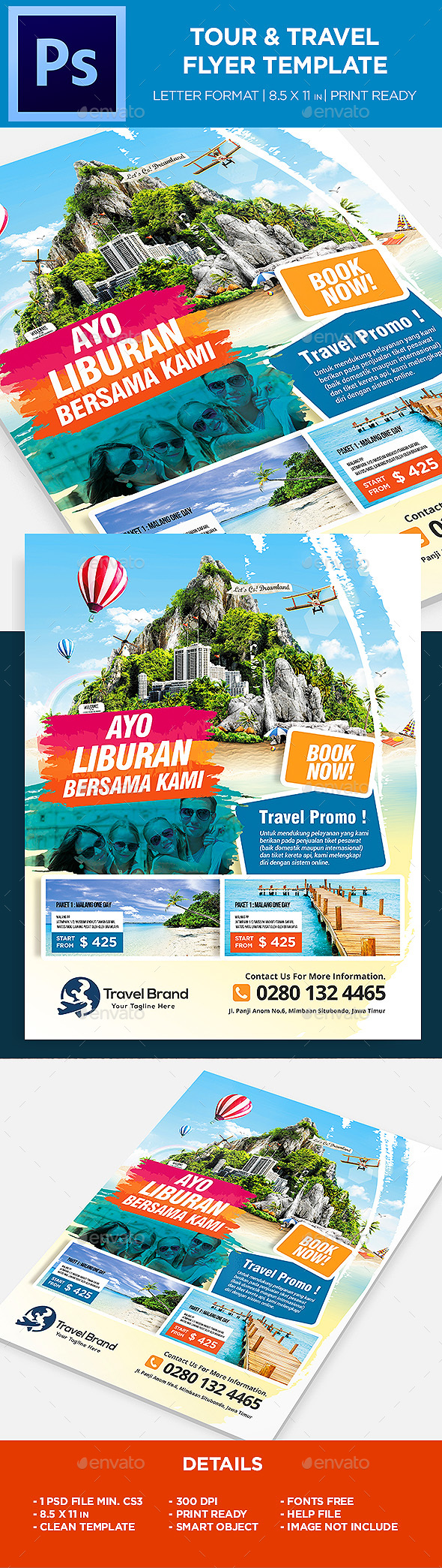 Travel Flyer By Ivanjoys19 Graphicriver