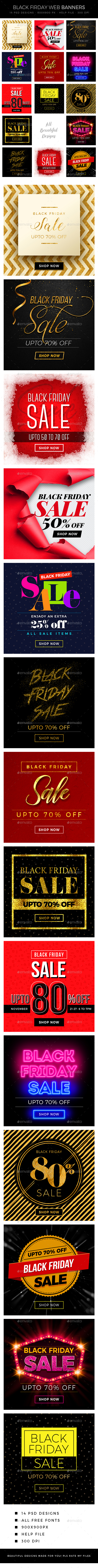 GraphicRiver Black Friday Banners 20897169