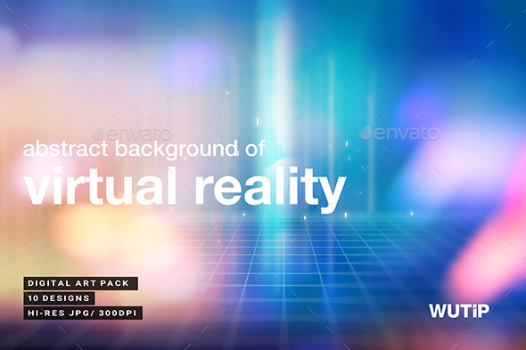 GraphicRiver Abstract Background Of Virtual Reality 20897336