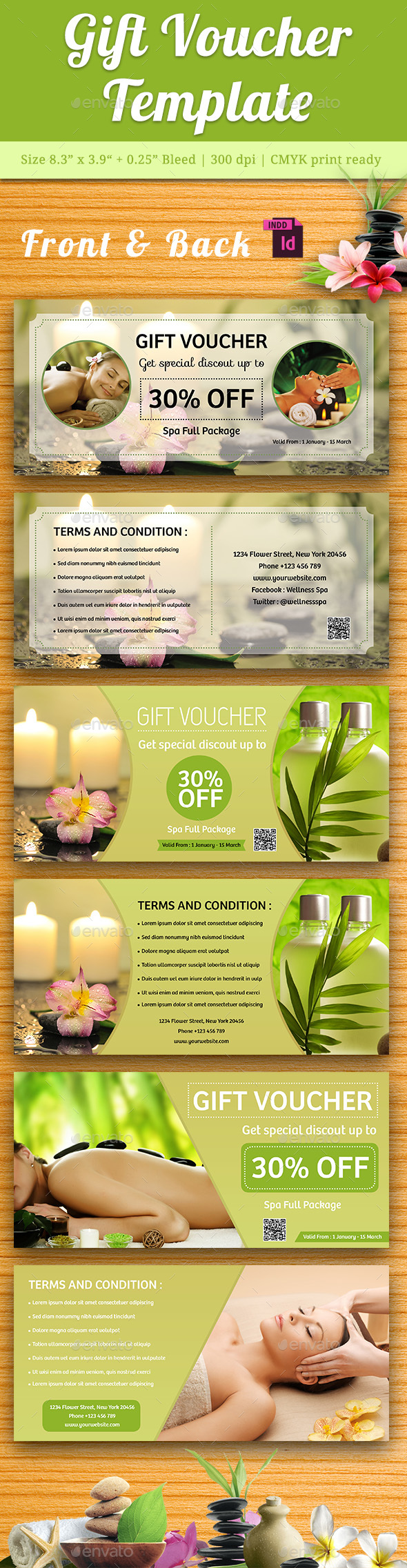 Gift Voucher Vol. 4 - Greeting Cards Cards & Invites