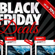 Black Friday Two Sided Store Flyer - GraphicRiver Item for Sale
