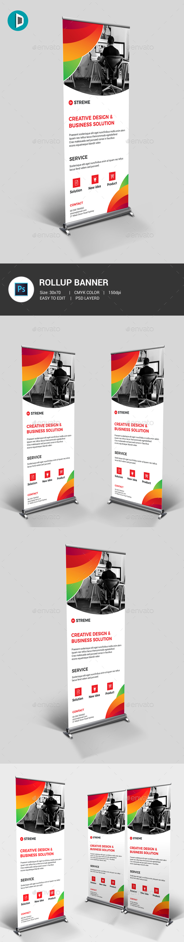 GraphicRiver Roll-Up Banner 20897536