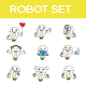 Robot Set - GraphicRiver Item for Sale