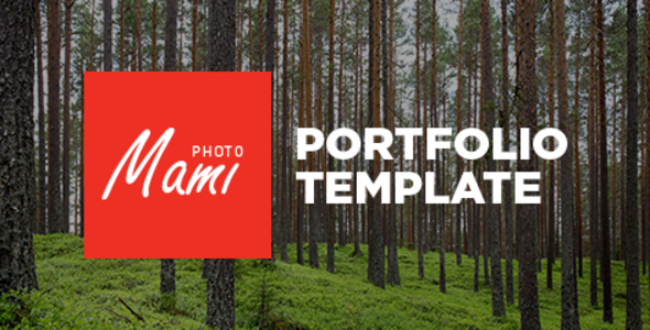 Download Free Mami - Portfolio Template