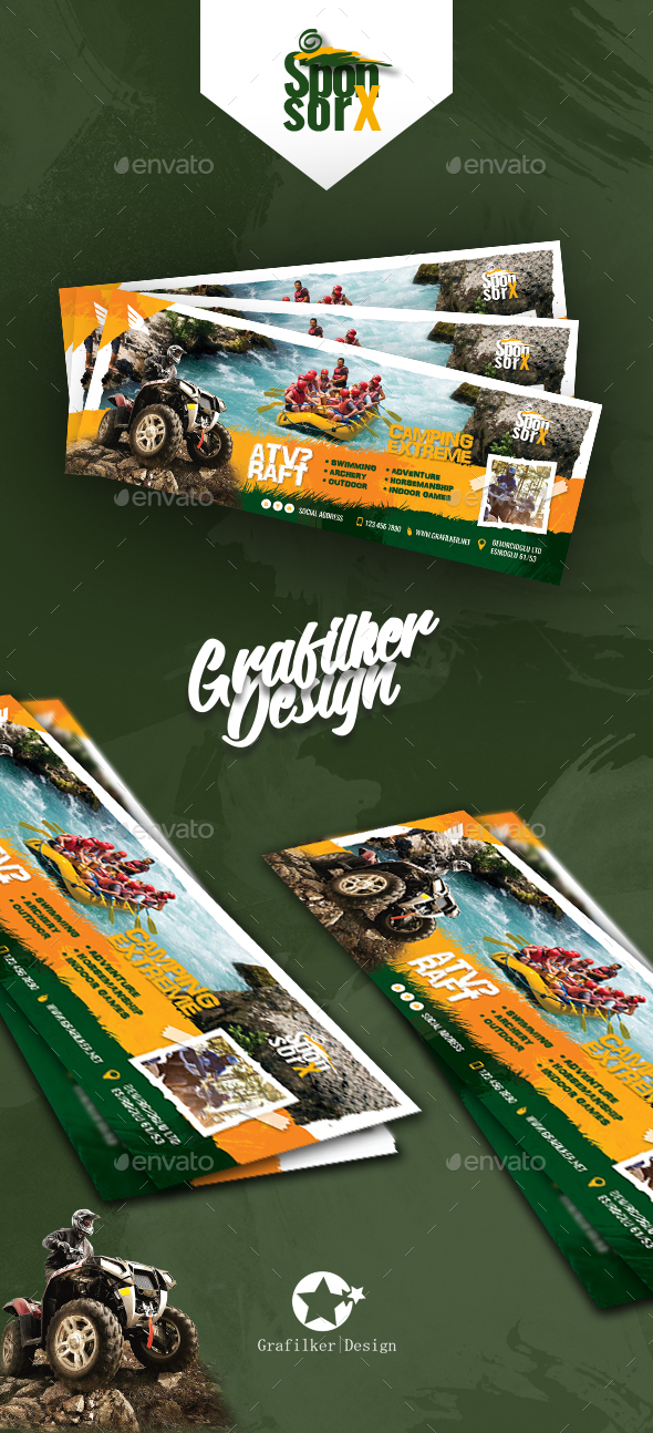 Camping Adventure Cover Templates - Facebook Timeline Covers Social Media