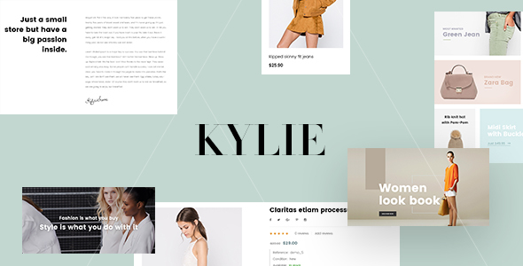 Image of Leo Kylie Prestashop Theme