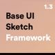 Base UI Sketch Framework: Must-Have Wireframe Toolkit with 180+ Screens - ThemeForest Item for Sale