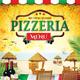Pizzeria Menu 3 (A4)
