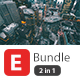 E Bundle 2 in 1 Power Point Presentation - GraphicRiver Item for Sale