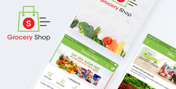 Grocery Shop - Retail PSD Templates
