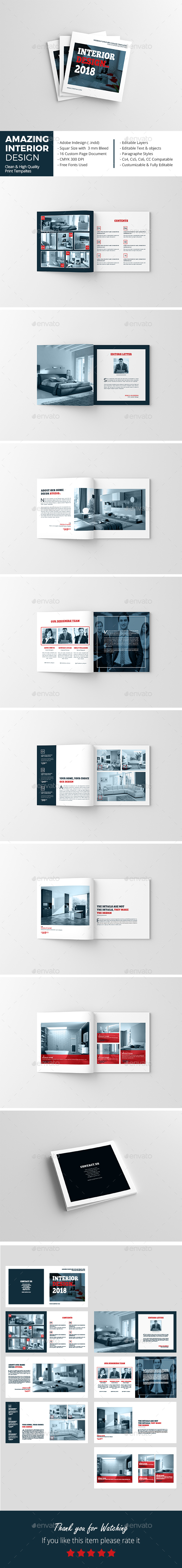 GraphicRiver Amazing Interior Design Brochure 20879383