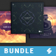 Chillout Trilogy vol.5 - CD Cover Templates Bundle