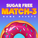 Sugar Free Match 3 - GraphicRiver Item for Sale