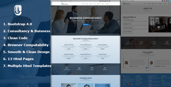 Dmax Consultancy -  Consultancy Service & Consulting Business Html Templates