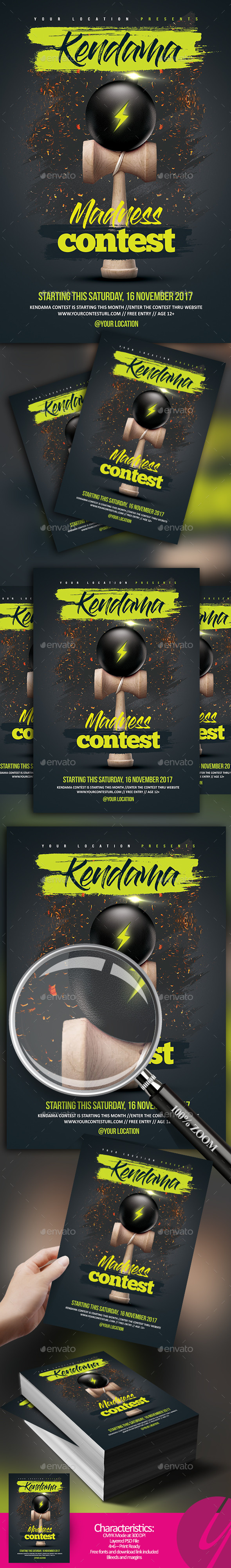 Kendama Madness Contest - Sports Events