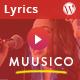 Muusico - Song Lyrics WordPress Theme
