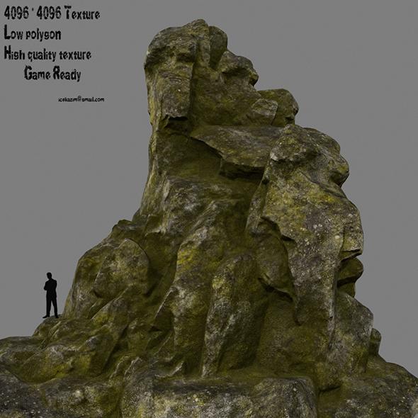 3DOcean mossy rocks 20898681