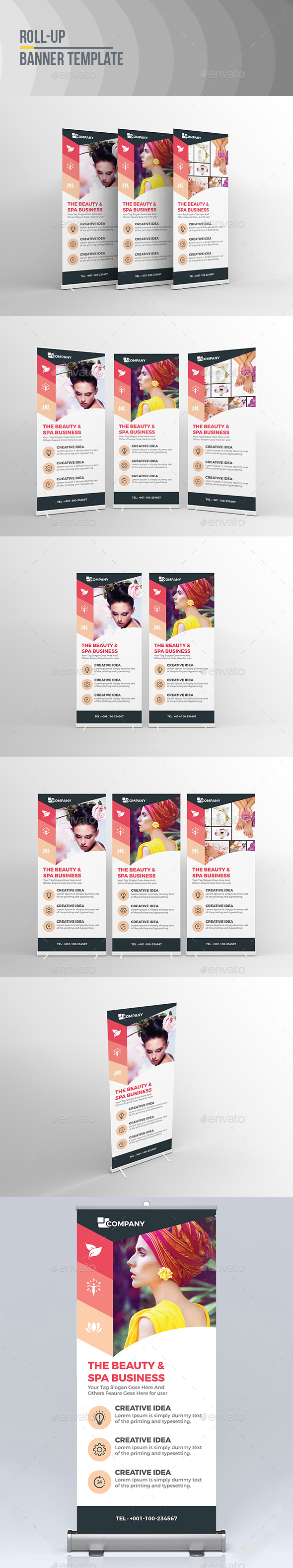 GraphicRiver Spa RollUp Banner 20883201