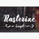 Rasterize Script Bold - GraphicRiver Item for Sale