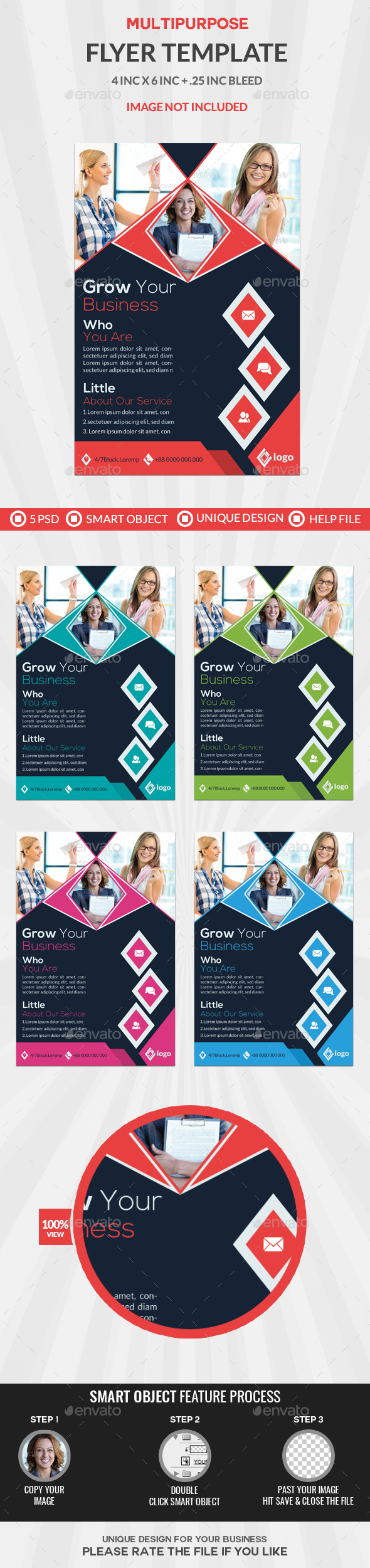 GraphicRiver Business Flyer 20885741