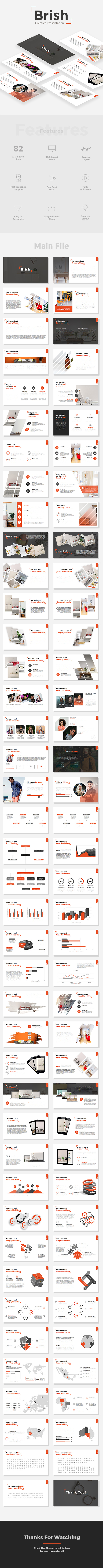 Brish - Creative Powerpoint Template - Creative PowerPoint Templates