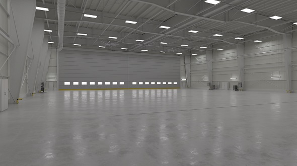 Hangar Interior 1 - 3DOcean Item for Sale
