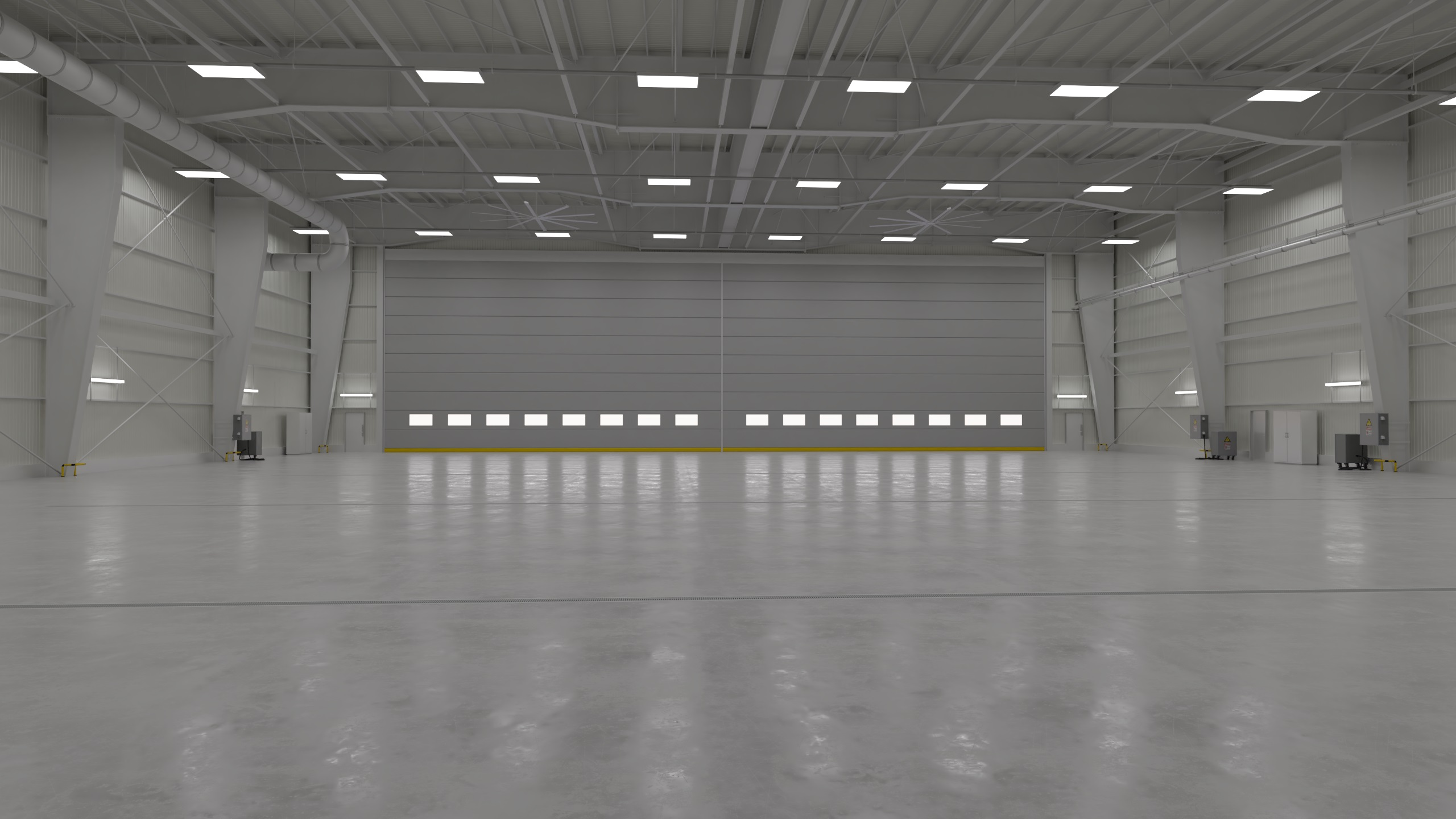 Hangar Interior 1 By Pytorator 3docean