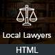 Local Lawyers & Attorneys – Business HTML5 Responsive Template for Law Firm - ThemeForest Item for Sale