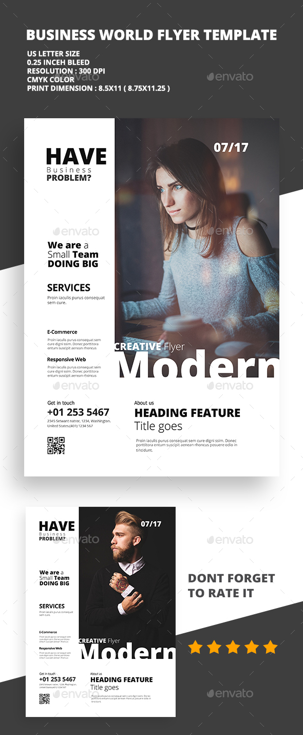 Modern Creative Flyer 02 - Flyers Print Templates