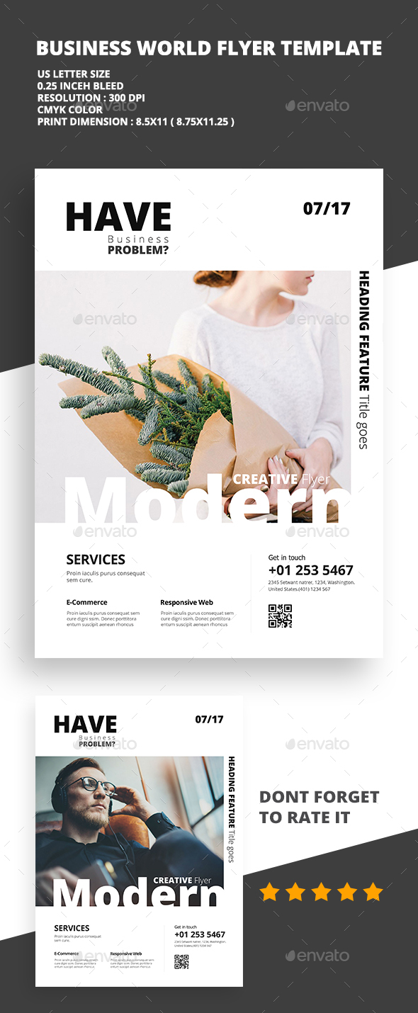 Modern Creative Flyer 03 - Flyers Print Templates