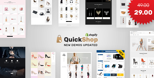 Quick Shop | Multi - Purpose Sectioned Shopify Theme - Shopify eCommerce