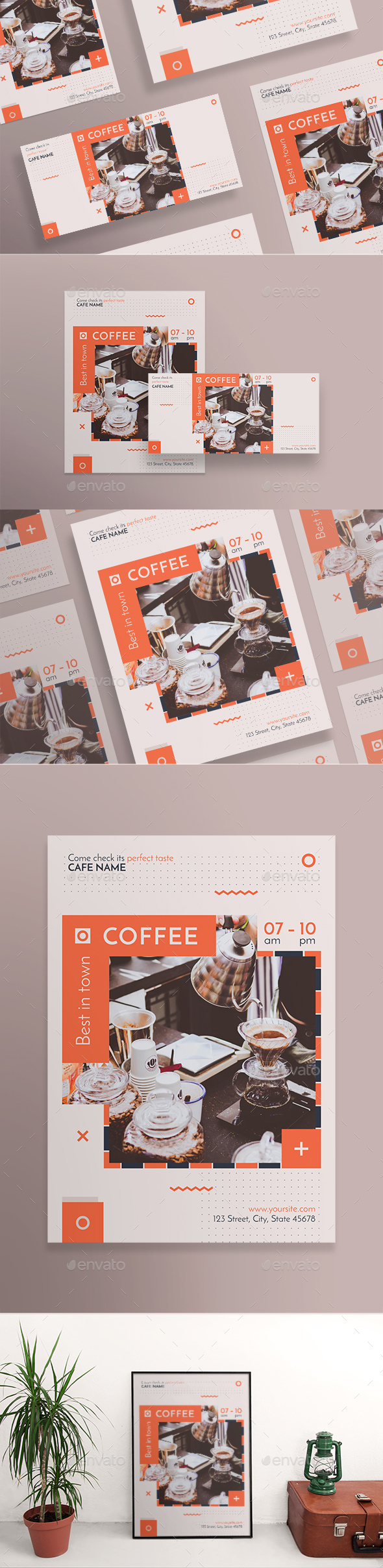 GraphicRiver Coffee Shop Flyers 20899125