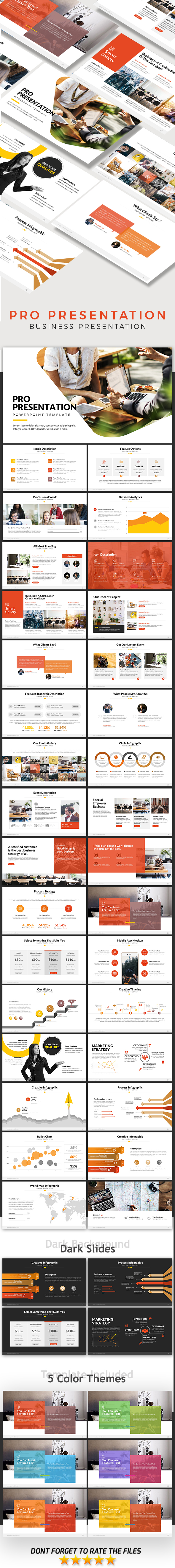 GraphicRiver Pro Presentation Powerpoint Template 20899204