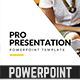 Pro Presentation - Powerpoint Template - GraphicRiver Item for Sale