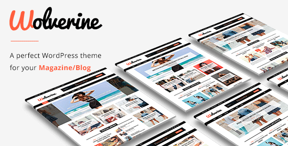 Image of Wolverine - Responsive WordPress Magazine and Blog Theme