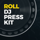Roll - DJ Press Kit / DJ Resume / DJ Rider PSD Template - GraphicRiver Item for Sale