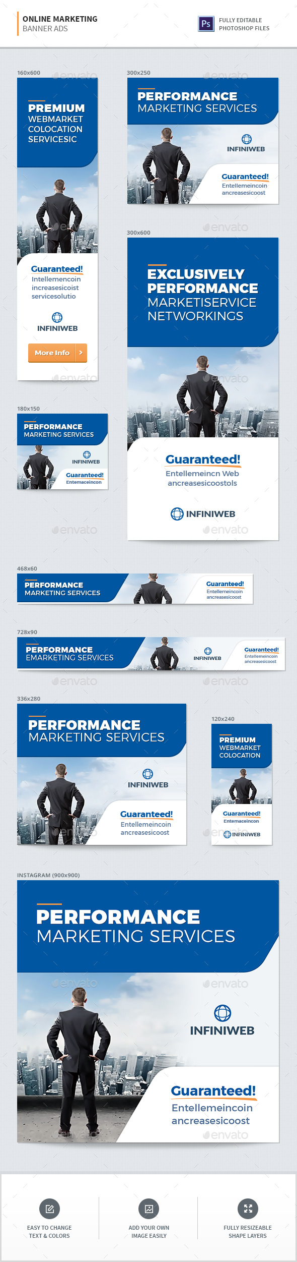 GraphicRiver Online Marketing Banners 20899570