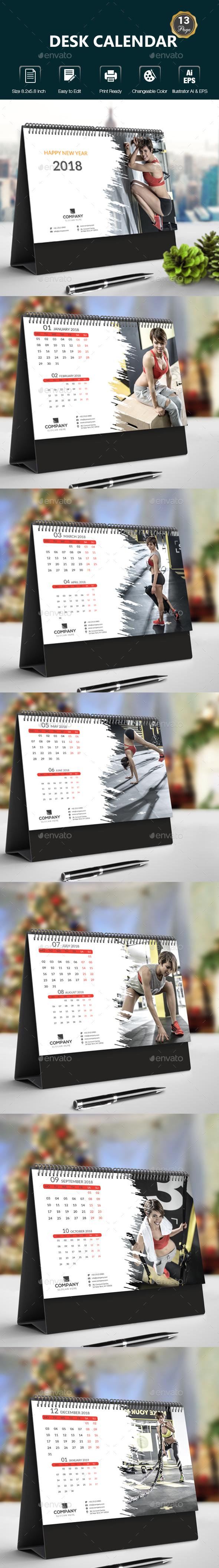 GraphicRiver Desk Calendar 20899651