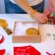 Woman Hands Preparing Chritsmas Gift - VideoHive Item for Sale