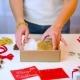 Woman Hands Preparing Chritsmas Gift - VideoHive Item for Sale
