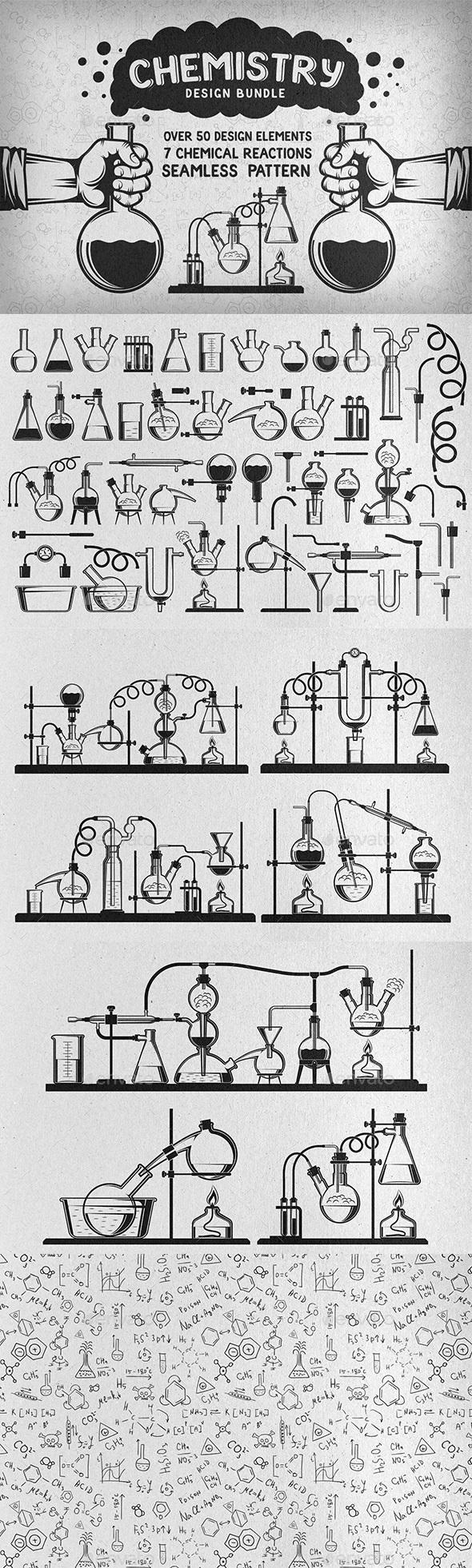 Chemistry Design Bundle - Retro Technology