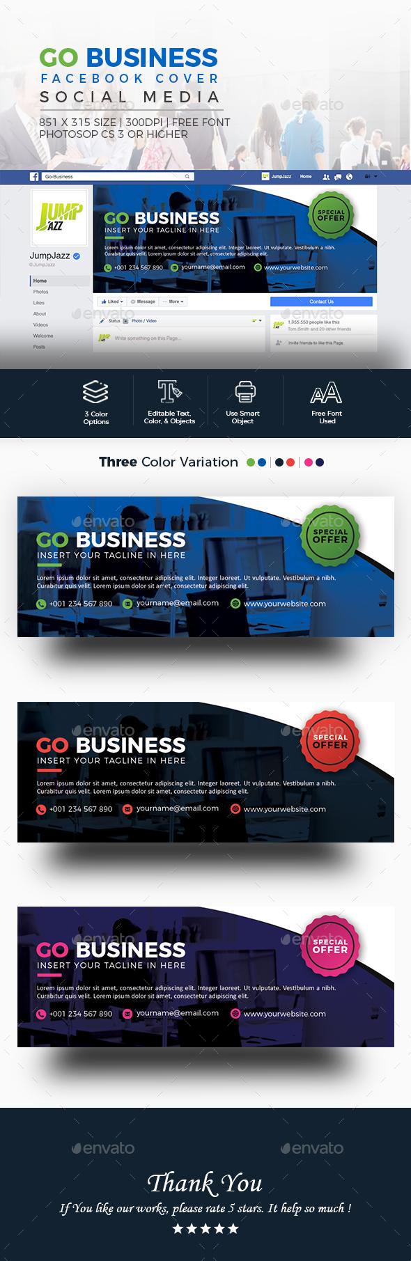Go Business - Facebook Cover - Facebook Timeline Covers Social Media