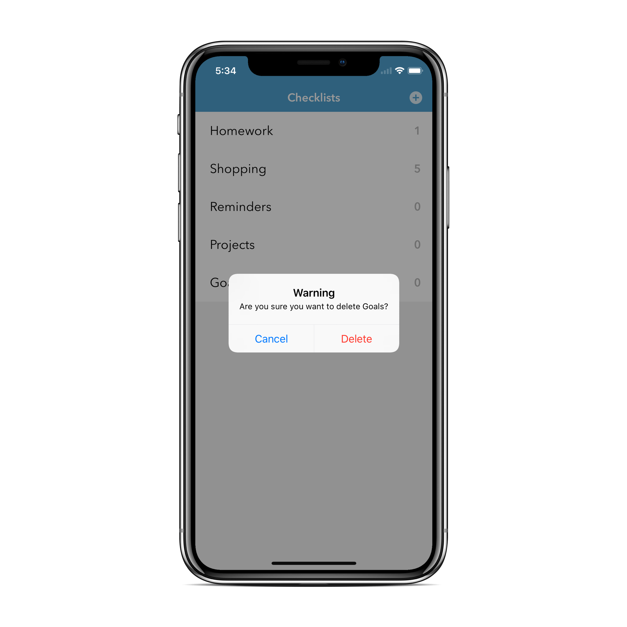 Checklist - A Minimalist Reminders App - Swift 4 / Xcode 9 / IOS 11 ...